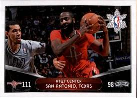 2014-15 Panini Stickers #417 Rockets - Spurs Front