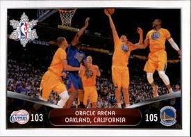 2014-15 Panini Stickers #418 Clippers - Warriors Front