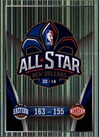 2014-15 Panini Stickers #426 NBA All-Star Game Logo Front