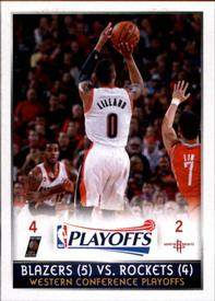 2014-15 Panini Stickers #434 Western Conference 1st Rd Front