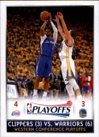 2014-15 Panini Stickers #435 Western Conference 2nd Rd Front