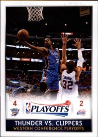 2014-15 Panini Stickers #436 Western Conference 2nd Rd Front