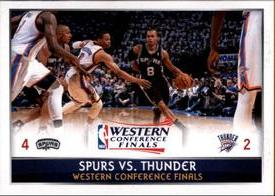 2014-15 Panini Stickers #437 Western Conference Finals Front
