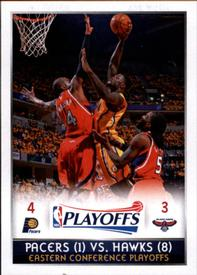 2014-15 Panini Stickers #438 Eastern Conference 1st Rd Front