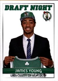 2014-15 Panini Stickers #461 James Young Front