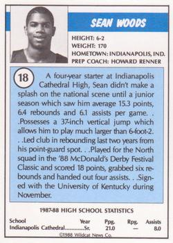 1988 Kentucky AAU Soviets #18 Sean Woods Back