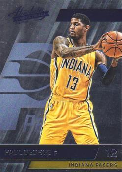Verzamelkaarten: sport Verzamelingen 2015-16 Panini Clear Vision Basketball #42 Paul George Indiana Pacers