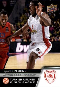2015-16 Upper Deck Euroleague #E-51 Bryant Dunston Front