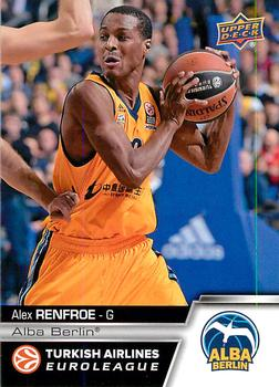 2015-16 Upper Deck Euroleague #E-84 Alex Renfroe Front