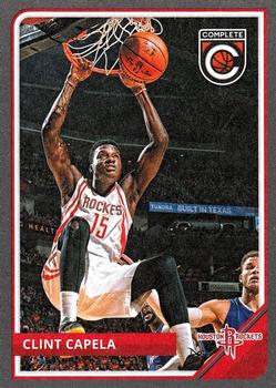 2015-16 Panini Complete - Silver #9 Clint Capela Front