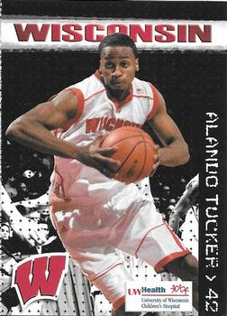 2002-03 Wisconsin Badgers college basketball card Alando Tucker Phoenix Suns