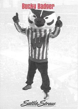 2006 07 Wisconsin Badgers UW Health NNO Bucky Badger Back