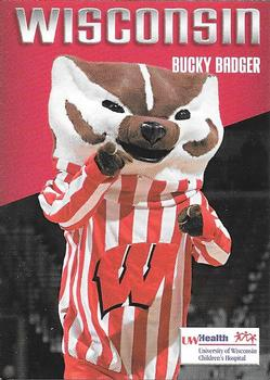 2006 07 Wisconsin Badgers UW Health NNO Bucky Badger Front