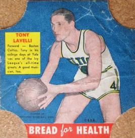 1950-51 Bread for Health #NNO Tony Lavelli Front