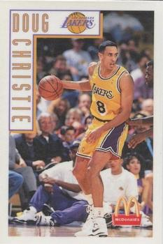 1993-94 McDonalds Los Angeles Lakers Magnets #NNO Doug Christie Front