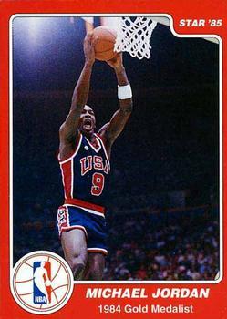 size 40 1d101 3f53f 1997 1984-85 Star Olympic Michael Jordan (Unlicensed ...