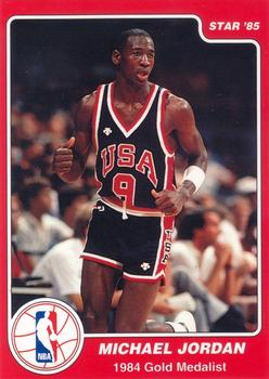 1997 1984 85 Star Olympic Michael Jordan Unlicensed 10 Front