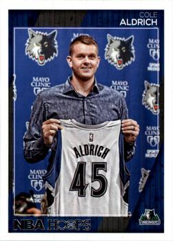 2016-17 Hoops #180 Cole Aldrich Front