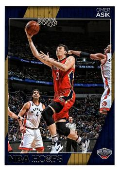 2016-17 Hoops #222 Omer Asik Front