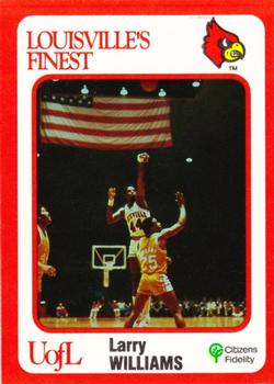 pretty nice f2d8f 55b4d Larry Williams Gallery   The Trading Card Database