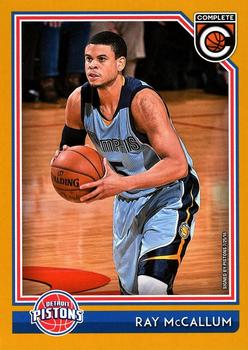 2016-17 Panini Complete - Gold #263 Ray McCallum Front