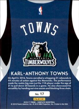 Karl-Anthony Towns Gallery | The Trading Card Database