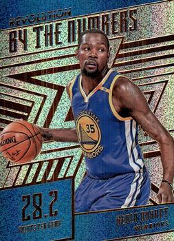 2016-17 Panini Revolution - By the Numbers #3 Kevin Durant Front