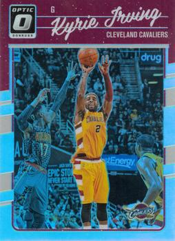 2016-17 Donruss Optic - Holo #17 Kyrie Irving Front