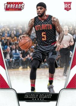 2016-17 Panini Threads #162 Malik Beasley RC Rookie Denver Nuggets