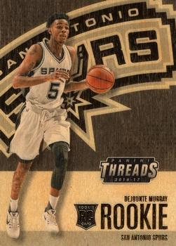 2016-17 Panini Threads #249 Dejounte Murray Front