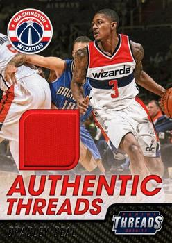 2016-17 Panini Threads - Authentic Threads #35 Bradley Beal Front