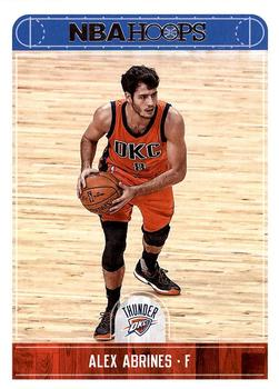 2017-18 Hoops #214 Alex Abrines Front