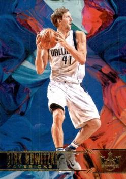 2017-18 Panini Court Kings #30 Dirk Nowitzki Front