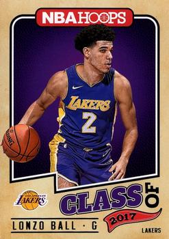 2017-18 Hoops - Class of 2017 #2 Lonzo Ball Front