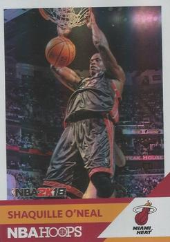 2017-18 Hoops - Shaquille O'Neal NBA 2K #NNO Shaquille O'Neal Front