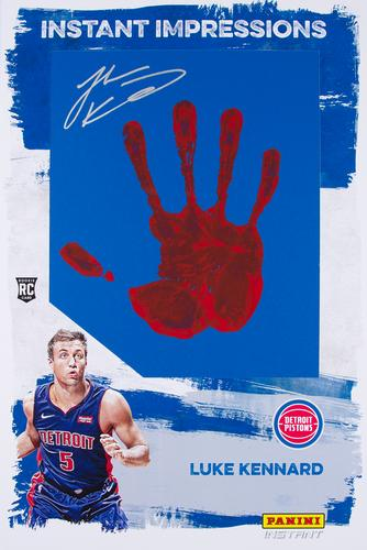 2017 PANINI INSTANT NBA RPS FIRST LOOK #22 LUKE KENNARD DETROIT PISTONS Verzamelkaarten, ruilkaarten Verzamelingen