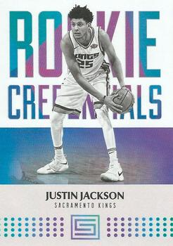 2017-18 Panini Status - Rookie Credentials #14 Justin Jackson Front