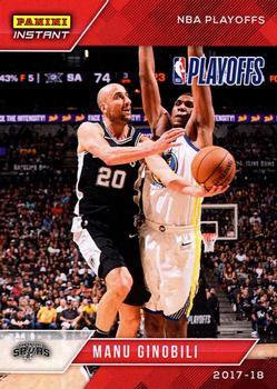2017-18 Panini Status Factions #24 Manu Ginobili//Tim Duncan//Tony Parker San Antonio Spurs Basketball Card