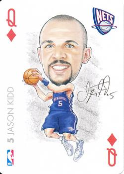4e58e7c22cd 2004-05 All Pro Deal Playing Cards  QD Jason Kidd