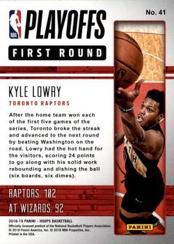 2018-19 Panini hoops nba City #NBA-13 Kyle Lowry