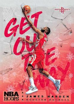 2018-19 Hoops Winter - Get Out The Way #GOW-2 James Harden Front