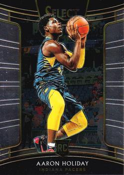 2018-19 Panini Select #29 Aaron Holiday Front