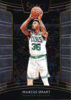2018-19 Panini Select #40 Marcus Smart Front