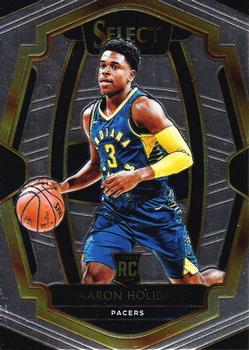 2018-19 Panini Select #126 Aaron Holiday Front