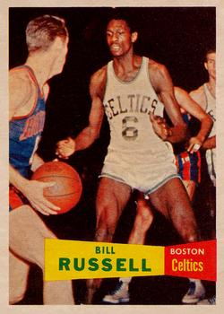 1957-58 Topps #77 Bill Russell Front