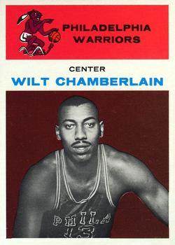 1961-62 Fleer #8 Wilt Chamberlain Front