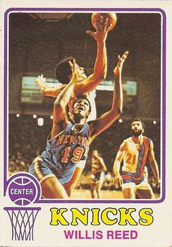 1973-74 Topps #105 Willis Reed Front