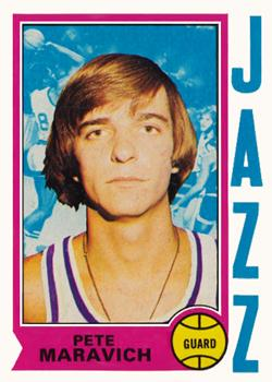 1974-75 Topps #10 Pete Maravich Front