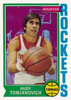 1974-75 Topps #28 Rudy Tomjanovich Front