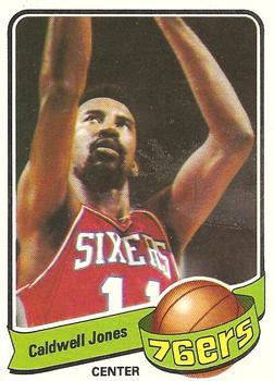 1979-80 Topps #33 Caldwell Jones Front